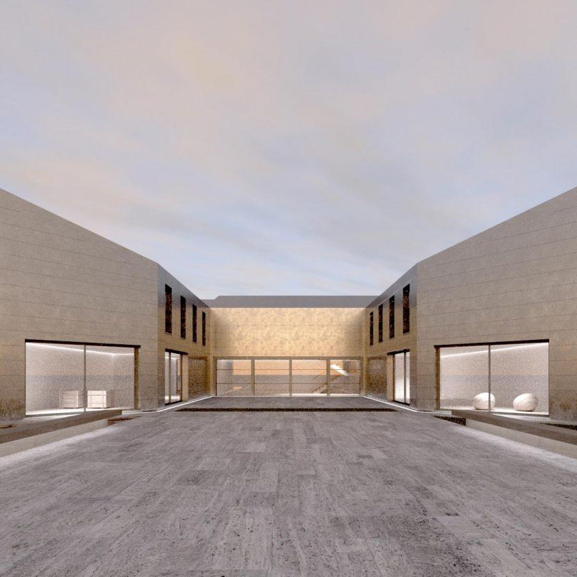 Progetto abitazione - Villa con Corte Privata