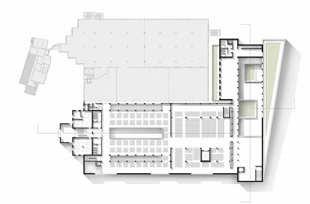 first floor plan - Cantina Valpolicella