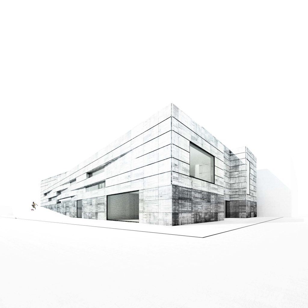 project for architecture contest Valpolicella Negrar winery