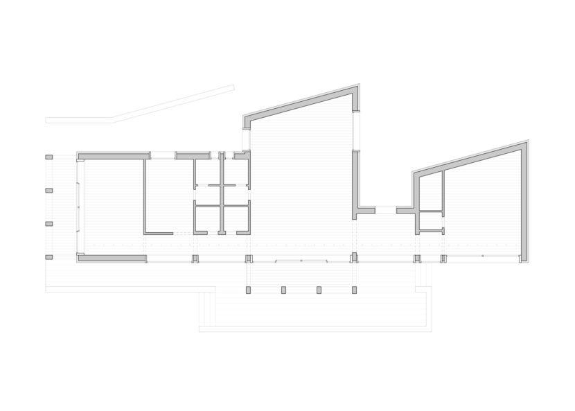 pianta studio abitazione ad un piano